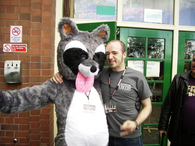 Chinny Racoon and Jono