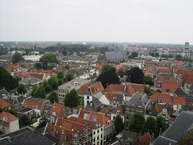 Deventer from the church tower