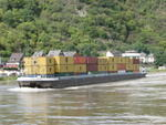 054 Rhine River traffic