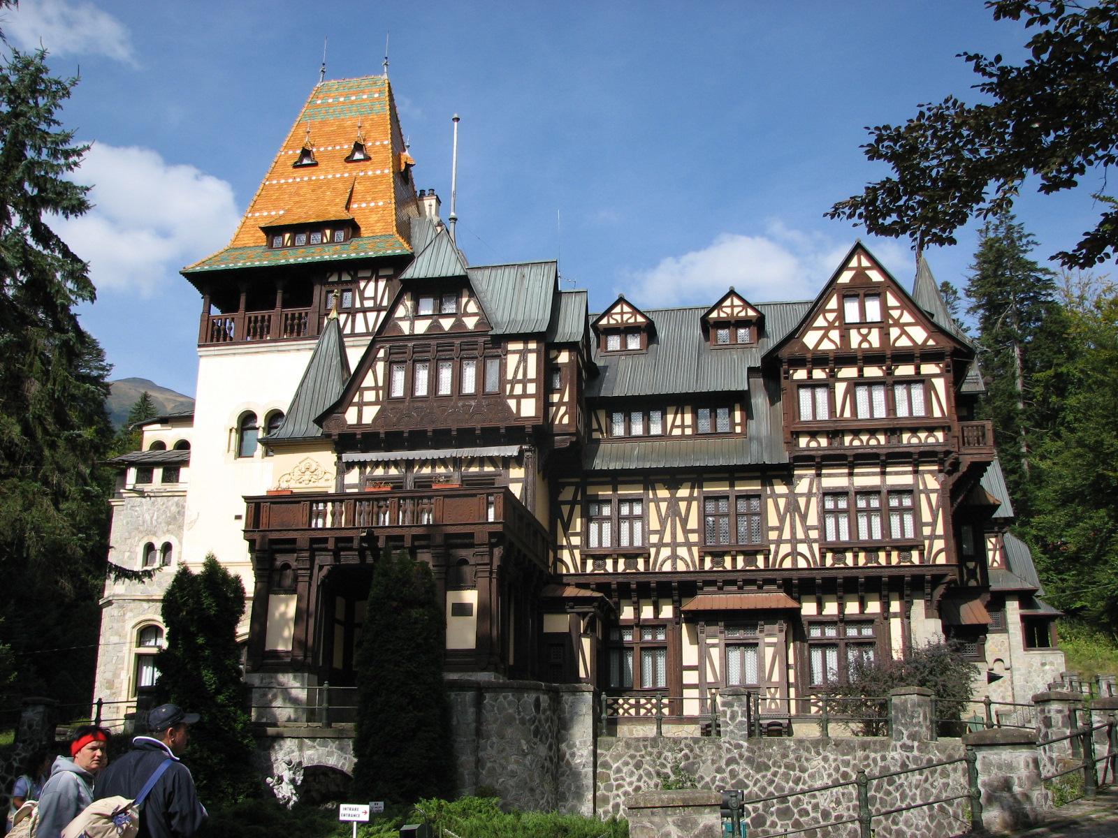 Sinaia Romania  city images : 078 Pelisor Castle, Sinaia Romania
